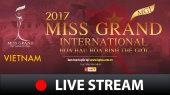 Đồng hành cùng Hoa Hậu Hòa Bình Thế Giới 2017 Livestream Vòng Sơ Kết Lúc 20h Ngày 23/10/2017