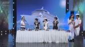 7 Nụ Cười Xuân Tập 14 : Hari Won và Trường Giang quảng cáo mắm tôm