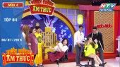 Thiên Đường Ẩm Thực Mùa 4 Tập 04 : Trường Giang thán phục vì sự đảm đang của Jolie