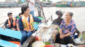 Hành Trình Ẩm Thực Việt Nam Tập 11 : Về Cái Răng ăn  bún riêu của Má Bảy Tươi