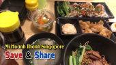 Chương Trình WANBO SAVE & SHARE Tập 104: Mì Hoành Thánh Singapore (14/11)