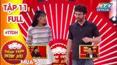 Thách Thức Danh Hài Mùa 5 Tập 11 : Thành-Giang cười bò trước thí sinh sún răng đòi nợ