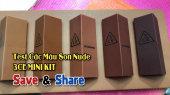 Chương Trình WANBO SAVE & SHARE Tập 200: Test Các Màu Son Nude Của 3CE Mini Kit (18/02/2019)