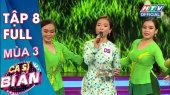 Ca Sĩ Bí Ẩn Mùa 3 Tập 08 : MC Quyền Linh diện dép tổ ong cực duyên dáng