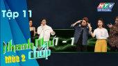 Nhanh Như Chớp - Mùa 2 Tập 11 : Ưng Hoàng Phúc, Gil Lê, Phạm Quỳnh Anh gạo bài vẫn thua