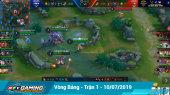 Vgaming - Liên Quân Mobile Vòng bảng -  Trận 1 - 10/07/2019