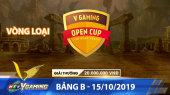 HTVC VGaming Open Cup Vòng Loại - Bảng B - 15/10/2019
