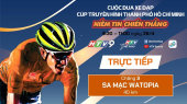 Cuộc Đua Xe Đạp Thực Tế Ảo HTV (6 Chặng ) Chặng 3 : Sa mạc WATOPIA | 40km | 26/04/2020