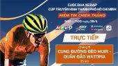 Cuộc Đua Xe Đạp Thực Tế Ảo HTV (6 Chặng ) Chặng 5 : Đèo MUIR - WATOPIA   30km   28/04/2020