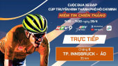 Cuộc Đua Xe Đạp Thực Tế Ảo HTV (6 Chặng ) Chặng 6 : Vòng LUTSCHER - INNSBRUCK (ÁO)  35km   29/04/2020