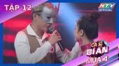 Ca Sĩ Bí Ẩn Mùa 4 Tập 12 : Huỳnh Lập battle rap với Osad khiến Việt Hương tròn mắt