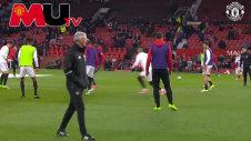 Manchester United Tập Luyện Trước Trận Đấu Với Everton