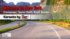 Welcome To New York - Taylor Swift