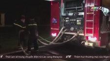 Cháy Lớn Tại KCN Nội Bài