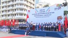 5000 Người Đi Bộ Cổ Vũ Đoàn Thể Thao VN Dự Sea Games 29