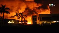 Cháy Lớn Tại Công Ty Nhựa Tiền Phong