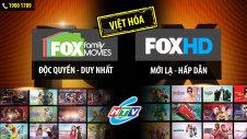 Fox Family Movies và Fox HD đã có trên HTVC
