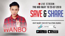 LIVE EVENT: SAVE & SHARE