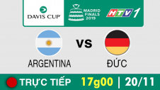 Trực tiếp :  Davis Cup 2019 -  ARGENTINA vs ĐỨC