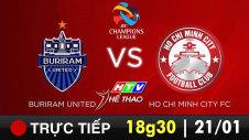 Trực tiếp : BURIRAM UNITED vs HO CHI MINH CITY FC