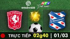 Trực tiếp : FC TWENTE VS SC HEERENVEEN