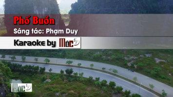Phố Buồn - Thanh Thúy