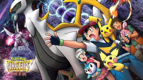 Xem Phim Hoạt Hình Pokemon Movie 12: Arceus Chinh Phục Khoảng Không Thời Gian HD Online.