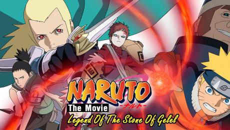 Naruto Movie 02: Huyền Thoại Đá Gelel