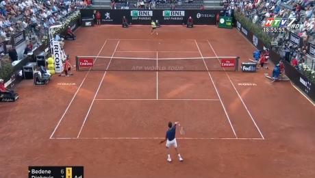 Xem Video Clip Điểm Tin Thể Thao Giải Rome Masters: Novak Djokovic Vào Vòng 3 HD Online.