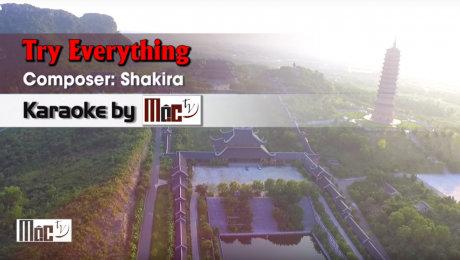 Xem Video Clip Karaoke Try Everything - Shakira HD Online.