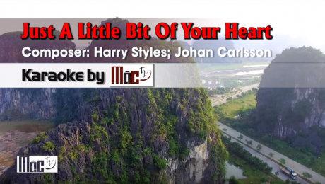Xem Video Clip Karaoke Just A Little Bit Of Your Heart - Ariana Grande HD Online.