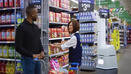 Xem Clip Chuỗi Siêu Thị Walmart Dùng Robot Kiểm Tra Hàng Hóa HD Online.
