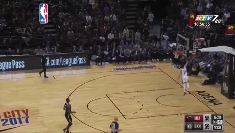 Bóng Rổ NBA: Miami Heat Thắng Brooklyn Nets