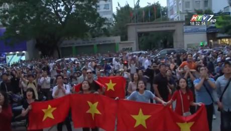 Người Dân TP.HCM Ăn Mừng U23 Việt Nam Chiến Thắng