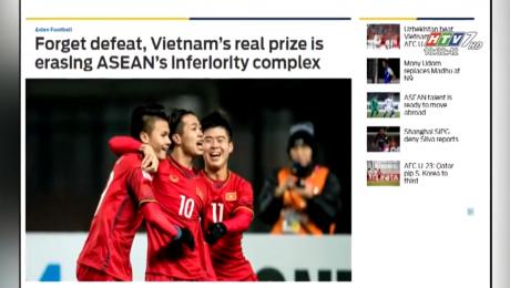 Xem Clip Tuyển U23 Trong Mắt Bạn Bè Quốc Tế HD Online.