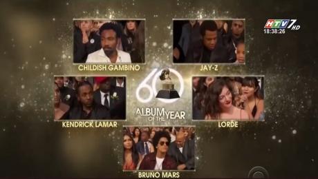 Xem Clip Lễ Trao Giải Âm Nhạc Grammy Lần Thứ 60 HD Online.