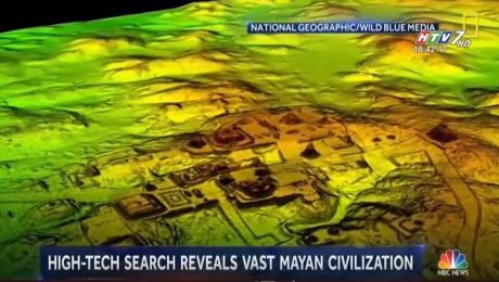 Tìm Thấy Thành Phố Bí Ẩn Của Người Maya