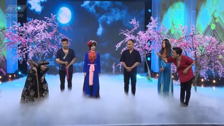 Xem Show GAMESHOW 7 Nụ Cười Xuân Tập 17 : Vân Trang làm loạn đội hình 7 nụ HD Online.