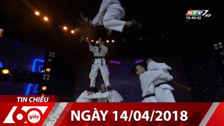 Xem Show Tin Nóng Bản tin 60s Chiều (2018) Bản tin 60s 14/04/2018 HD Online.