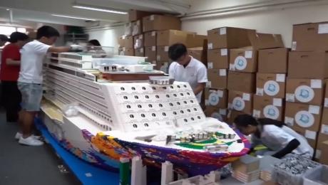 Chiêm Ngưỡng Chiếc Thuyền Lego Lớn Nhất Thế Giới