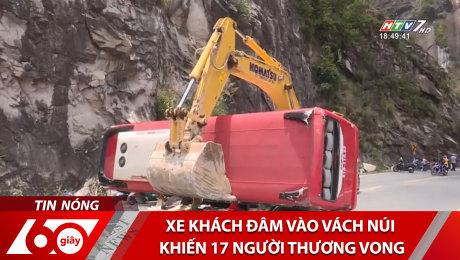 Xem Clip Xe Khách Đâm Vào Vách Núi Khiến 17 Người Thương Vong HD Online.
