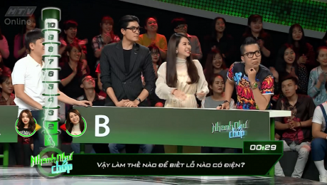 Xem Show GAMESHOW Nhanh Như Chớp Tập 06 : Quang Đại xứng danh soái ca đẹp trai thông minh HD Online.