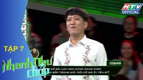 Xem Show GAMESHOW Nhanh Như Chớp Tập 07 : Đại Nhân, Nam Anh, Quang Đăng, Thái Trinh, Phương Linh HD Online.