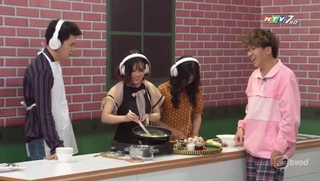 Xem Show GAMESHOW Mình Ăn Trưa Nhé Tập 04 : Đội những cô gái vs Đội 3D HD Online.