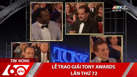 Xem Clip Lễ Trao Giải Tony Awards Lần Thứ 72 HD Online.
