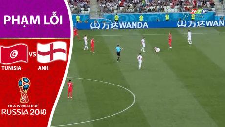 TUNISIA vs ANH [PHẠM LỖI]