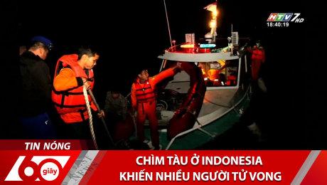 Chìm Tàu Ở Indonesia Khiến Nhiều Người Tử Vong