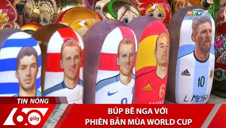 Búp Bê Nga Với Phiên Bản Mùa World Cup