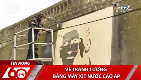 Xem Clip Vẽ Tranh Tường Bằng Máy Xịt Nước Cao Áp HD Online.