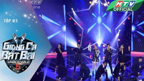 Xem Show GAMESHOW Giọng Ca Bất Bại Tập 03 : Xuất hiện 2 thí sinh khiến giám khảo đau đầu HD Online.